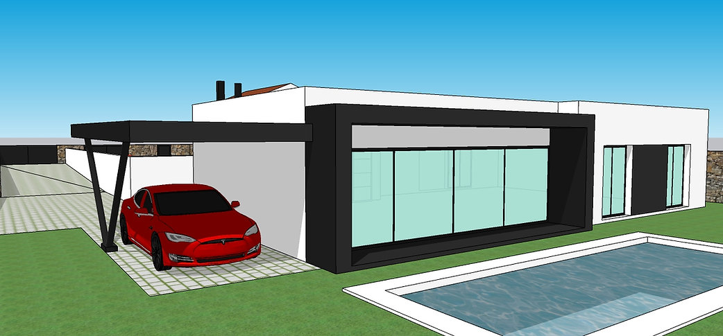 3D project of the home to build
