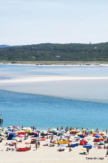Foz do Arelho; family beach Portugal
