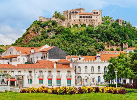 Castle and city of Leiria, a very interesting and unspoiled city to discover in Portugal