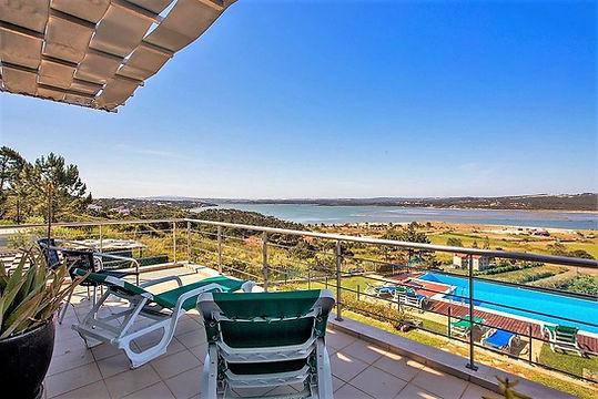 balcony of this family holidays villa