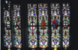 Medieval stained glass in the Monastery