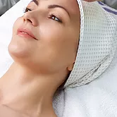 Woman with Towel on Head.webp