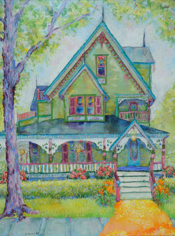 Cape May_Pastel on Board_15.5 x 11.5