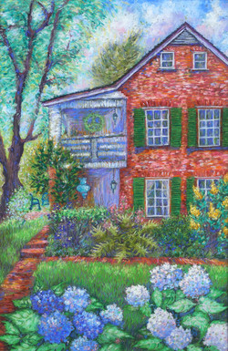 Afternoon at Laura's_Pastel on Paper_17 x 11.5