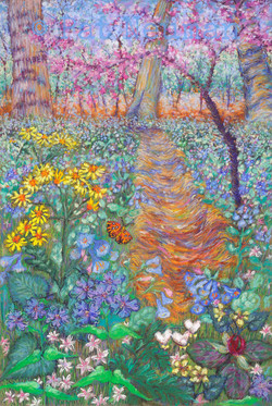 Riverbend Journal_Pastel on Paper_17 x 11.5
