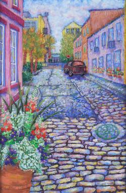 Charleston Alley_Pastel on Paper_17 x 11.5 (1)