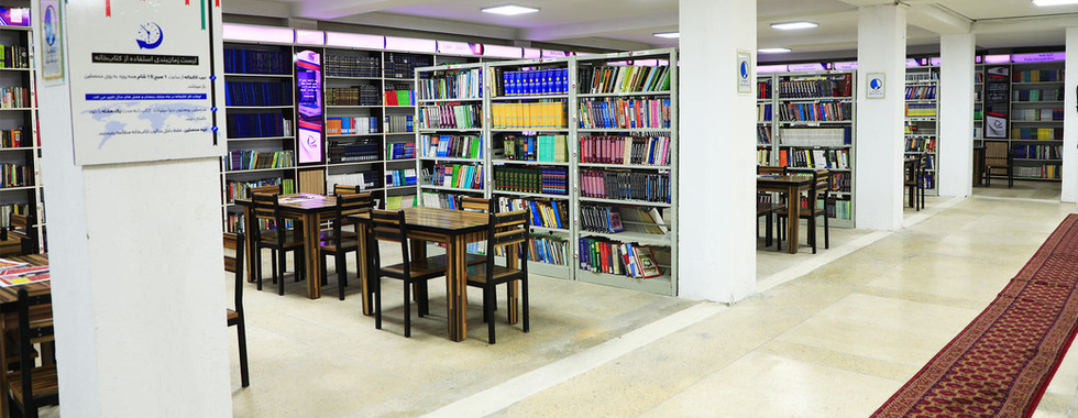 Large and  Authentic Library