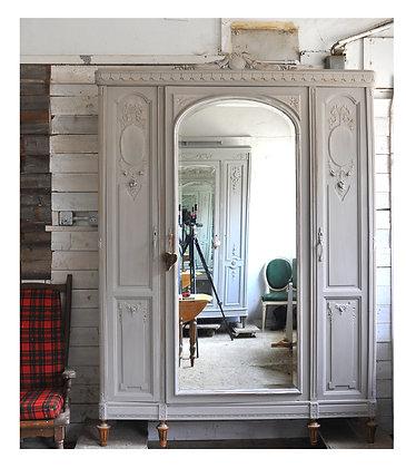 Mistral french antique wardrobe london