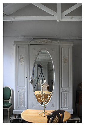 Courtoisie french antique wardrobe london