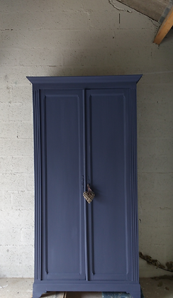 Mylor french antique wardrobe