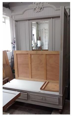 Base of French wardrobe