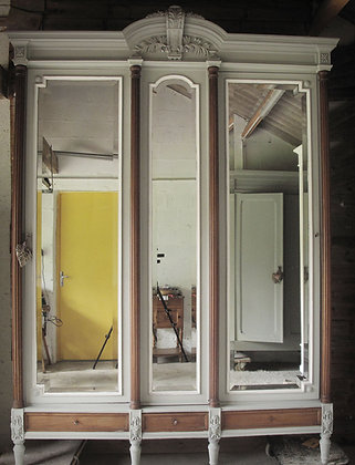 Peter French Antique Wardrobe