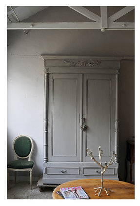 Conflans french antique Wardrobe