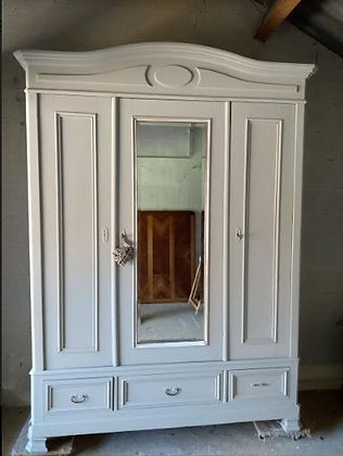 George antique french wardrobe