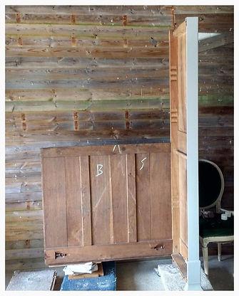 Building a three door wardrobe