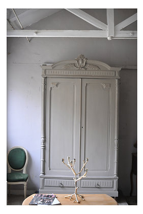Atlas  french antique wardrobe Wardrobe  london