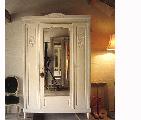 Fleury sur Andelle Antique French Wardrobe