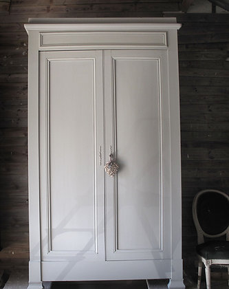 berth french antique wardrobe