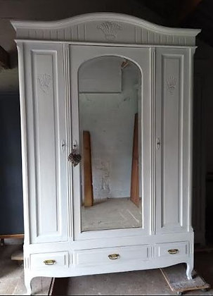 Shaone Antique French Wardrobe