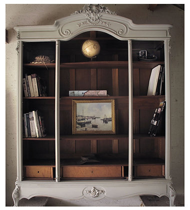 Rococo French Antique Bookshelf