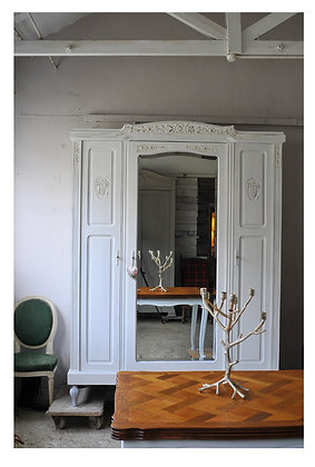 Jaune Wardrobe french antique wardrobe london