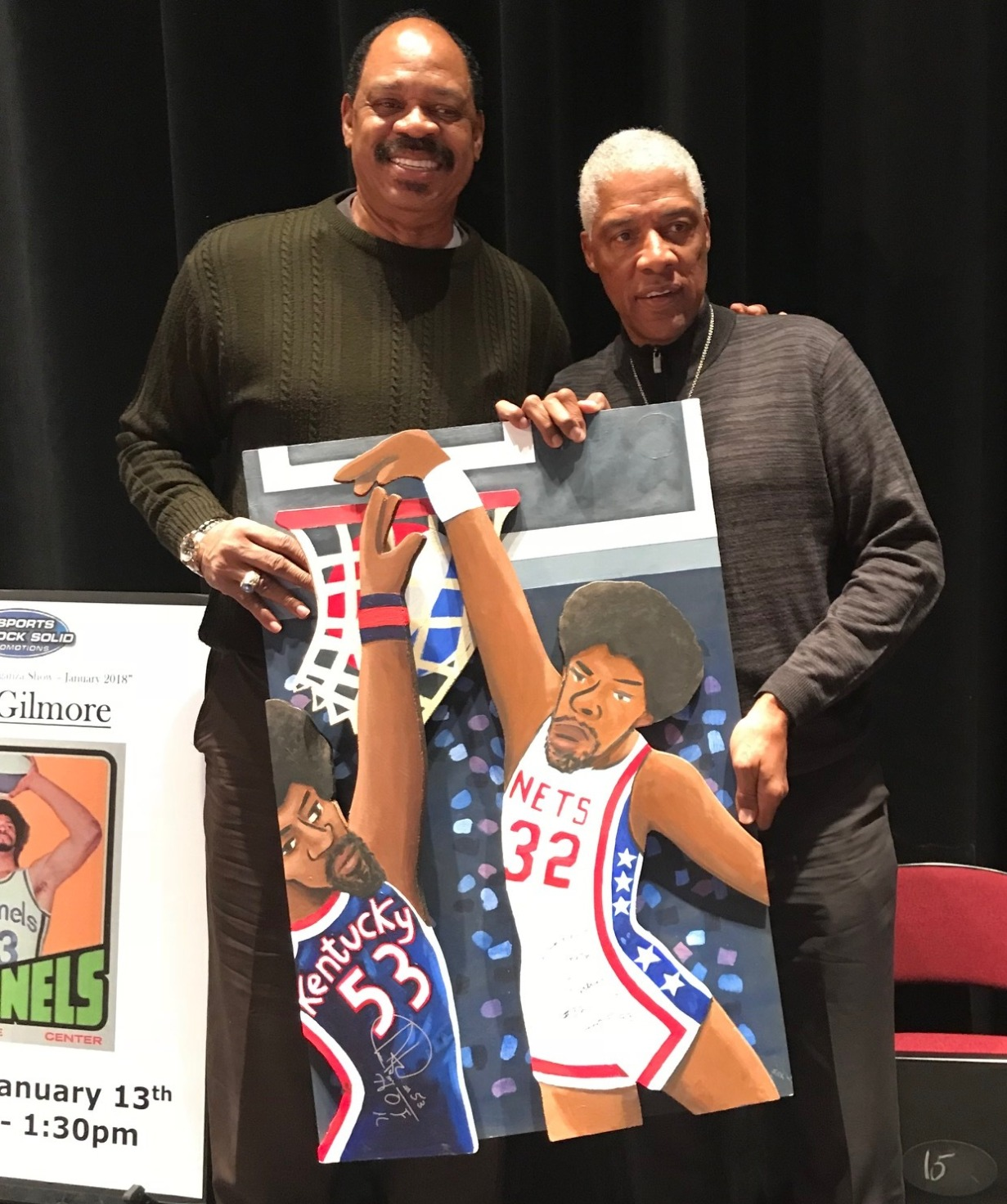 Artis Gilmore and Dr. J
