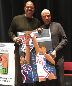 Artis Gilmore and Dr. J