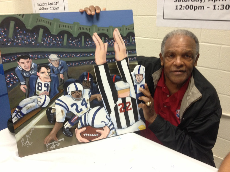 Lenny Moore Greatest Game
