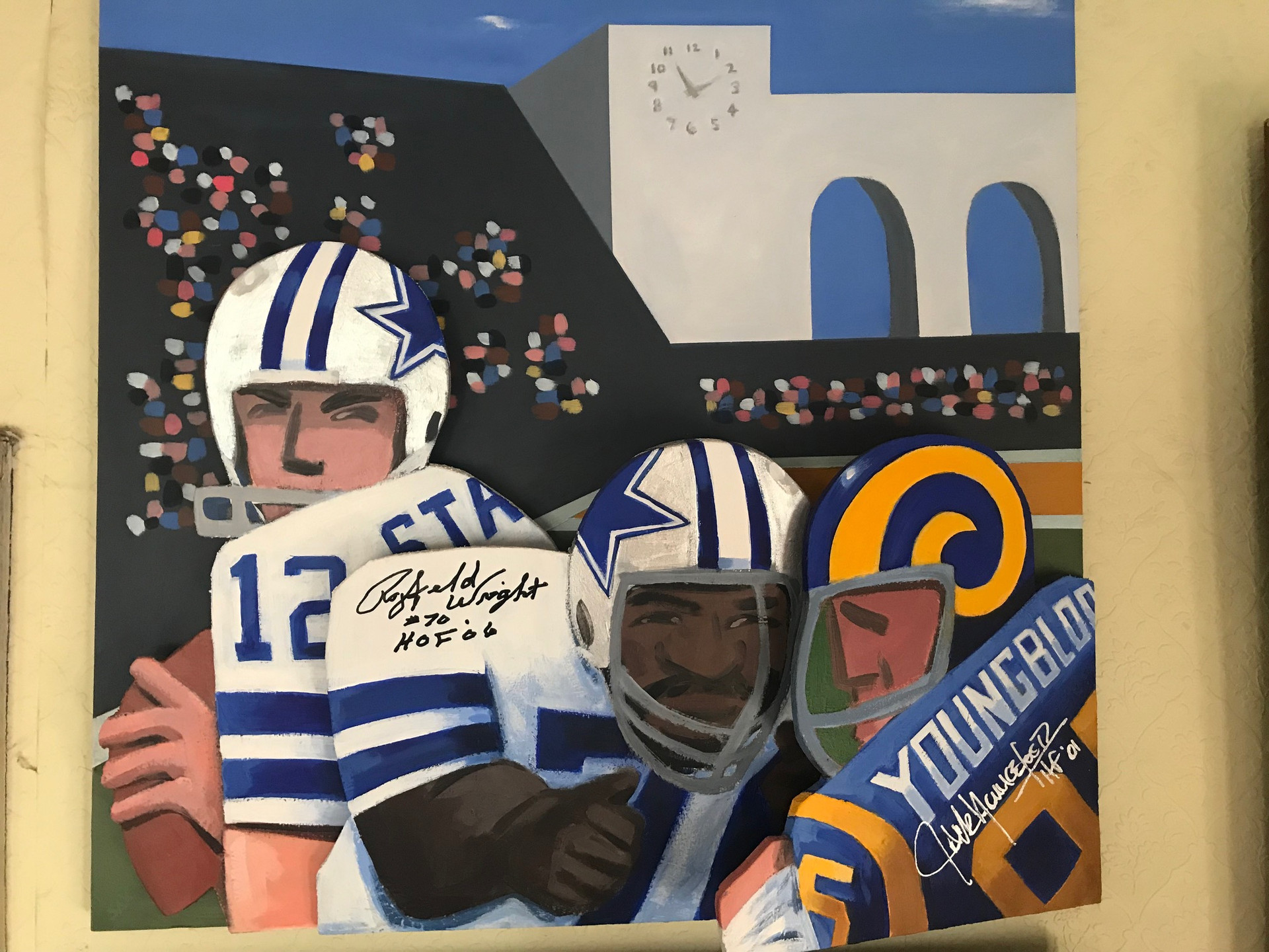 Rayfield Wright and Jack Youngblood