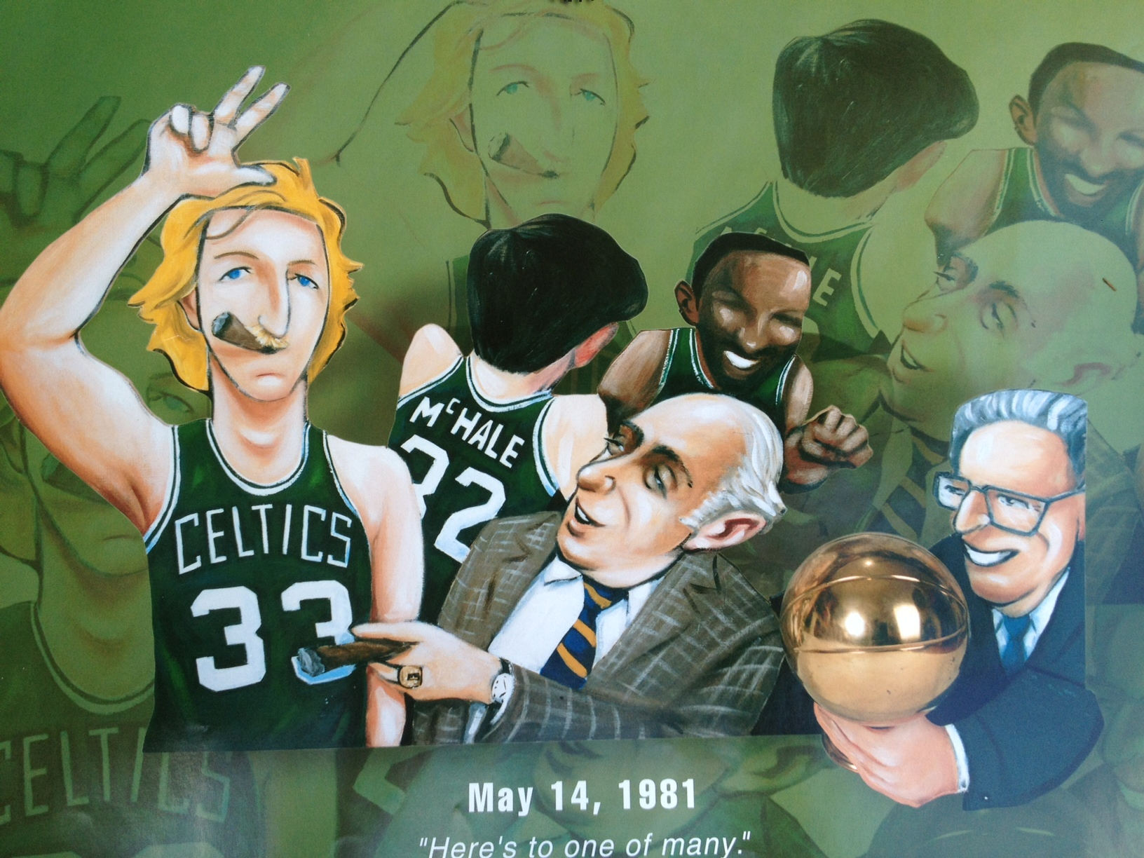 Larry Bird Red Auerbach