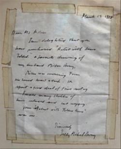 Sally Michel letter