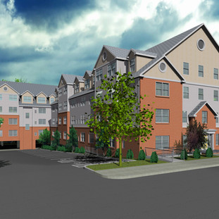 Rendering of River Breeze Apartments - 223 Canal Street