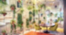 Usine espace de bureau contemporain remp