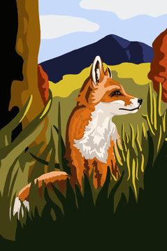 Fox Textile Concept Art
