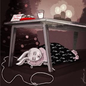 Christmas Eve Bunny