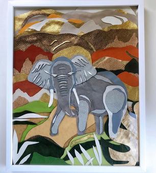 Safari Textile Collection - Elephant