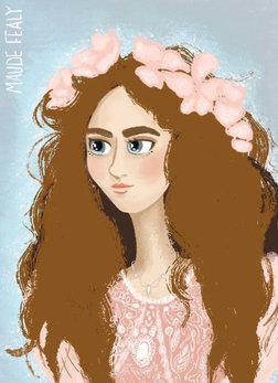 Maude Fealy Portrait