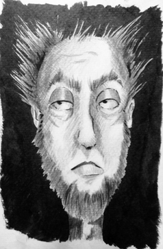 Billy - Pencil & Ink