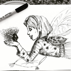 Fairy and her wisp