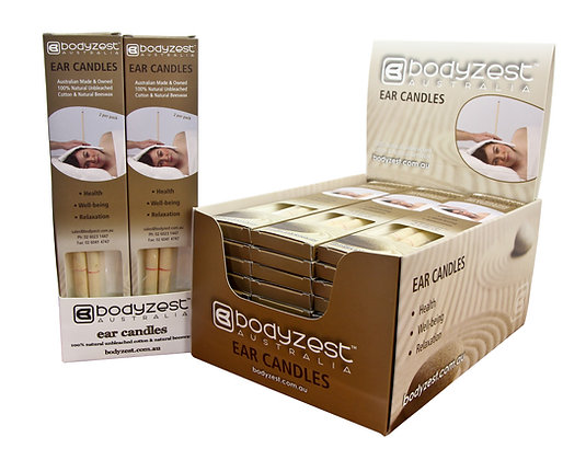 Bodyzest Ear Candles Box of 30 Pairs