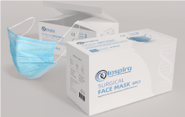 Inspira Surgical Mask Level 3 (box of 50)