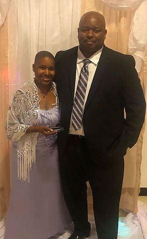 My husband, my best friend, my supporter