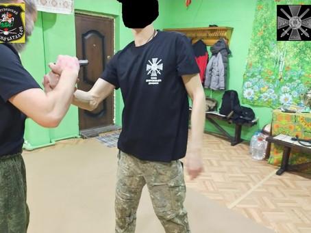 тренировки Отдельного Сводно-Казачьего батальона