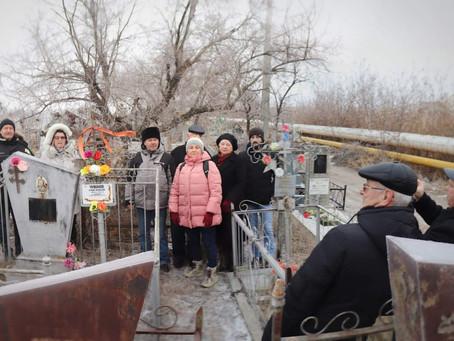 Казаки Астрахани почтили память георгиевских кавалеров