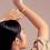 Thumbnail: Spirale Bracelet / Bangle fermé en or 18k