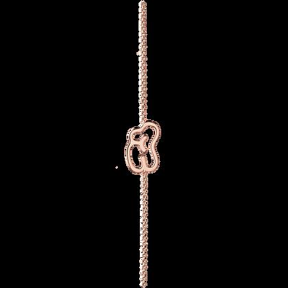 Empreinte Bracelet Grand modèle en or 18k