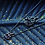 Thumbnail: Flamme Collier double en or 18k serti de diamants noirs