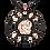 Thumbnail: Collier Labyrinthe de l'Âme serti d'un saphir blanc et diamants