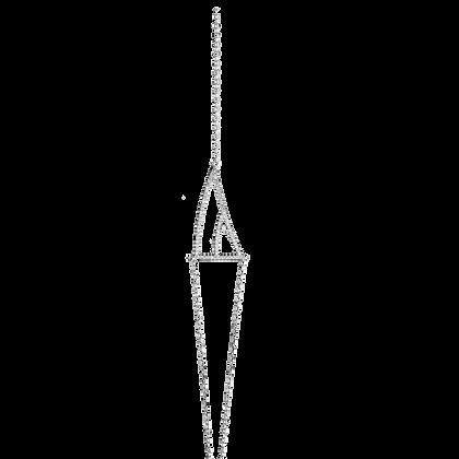 Coïncidence Bracelet en or 18k serti de diamants