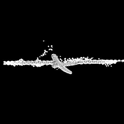 Duality Bracelet Petit modèle en or 18k sertie de diamants
